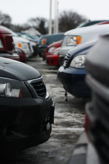 Parking (IvanClow) Tags: cars grey parkinglot dof cloudy parking lot need pronto ideas muted i ivanclow