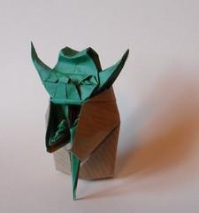 Yoda - Fumiaki Kawahata (faantazja) Tags: paper starwars origami yoda master jedi kawahata fumiaki
