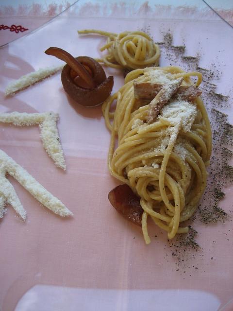 Spaghetti, alla, Carbonara,