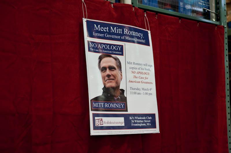 Mitt Romney Book Signing