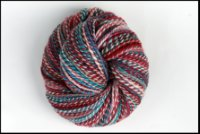 Pocket Full of *Posies* on Superwash BFL Handspun~ 4.5 oz