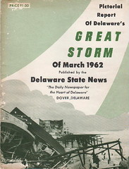 Pictoral Report of Delawares Great Storm of 1962 (kschwarz20) Tags: storm history md maryland books oceancity 1962 kts ocmd delawarestatenews