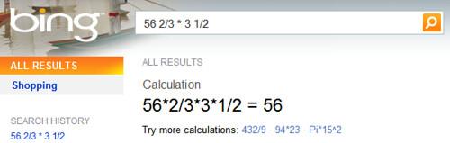 Bing & Math