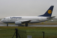 D-ABIC - 24817 - Lufthansa - Boeing 737-530 - Manchester - 081126 - Steven Gray - IMG_2630