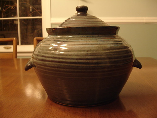 Barber's Pottery Bean Pot