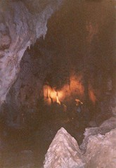 Deep Inside the Caverns (Designer Michael) Tags: newmexico underground 1993 cave carlsbadcaverns stalagmites cccp carlsbadcavernsnationalpark landofenchantment caveformations undergroundformations