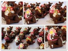 Ositos golosos / Orsetti golosi (ArtWen) Tags: porcelanafria pastadimais cupcakepicnik artwenositos