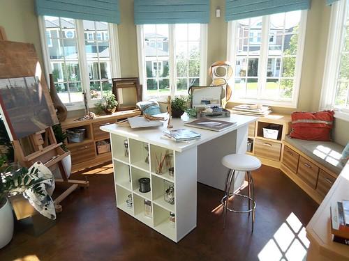 Office Area at Brightwar in Huntington Beach