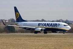 EI-EKP - 35028 - Ryanair - Boeing 737-8AS - Luton - 100316 - Steven Gray - IMG_8427