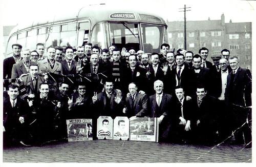 Millburn Celtic Supporters, 1960s.