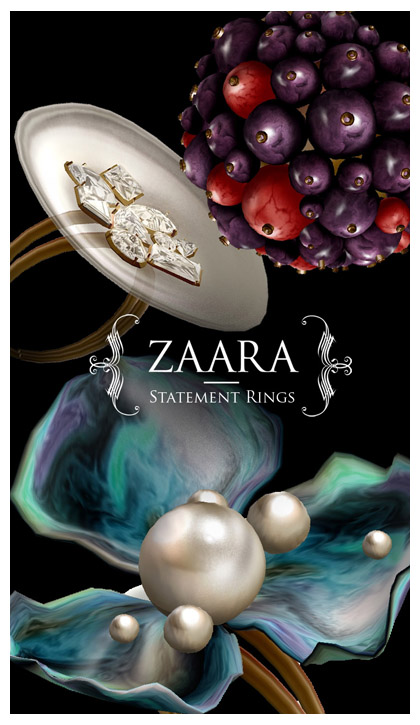 Zaara : Statement Rings