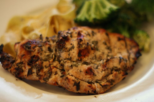 Grilled Rosemary Chicken Recipe