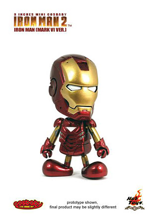 Mini Cosbaby de Iron Man 2