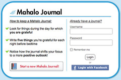 Mahalo Journal - Facebook Connect (4)