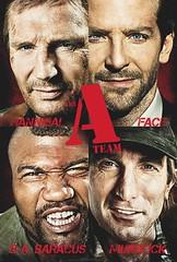 100403 - 好萊塢電影版『天龍特攻隊 The A-Team』正式公開第2支預告片,還有第二張主角特寫大海報!