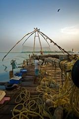 Chinese fishing nets - Fort Cochi