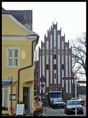 Stargarder Tor und Reuter-Haus Neubrandenburg