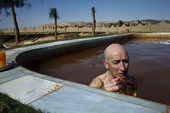 20100318_WHITEDESERT_2040 (Sara Lafleur-Vetter) Tags: travel vacation man tourism sahara relax desert tea egypt tourist oasis relaxation hotspring 2010 egy whitedesert saharaelbeyda bakhariaoasis
