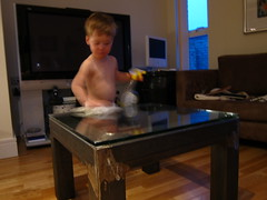 Lucas the cleaner