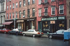 McSorley's Old Ale House (1854), New York City, NY (1997) (Onasill ~ Bill Badzo) Tags: new york old city house ny architecture pub lafayette village manhattan landmark historic east mcsorleys onasill