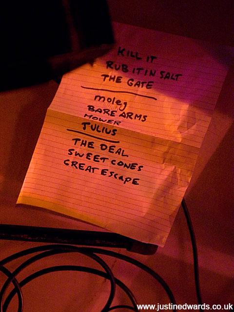Set List - 2007