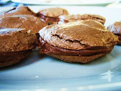 chocolate french macaroons - 23