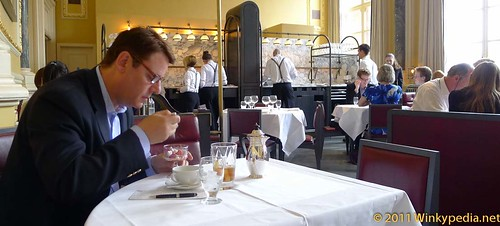 Jeremy Wayne at Gilbert Scott by Marcus Wareing at St Pancras Hotel