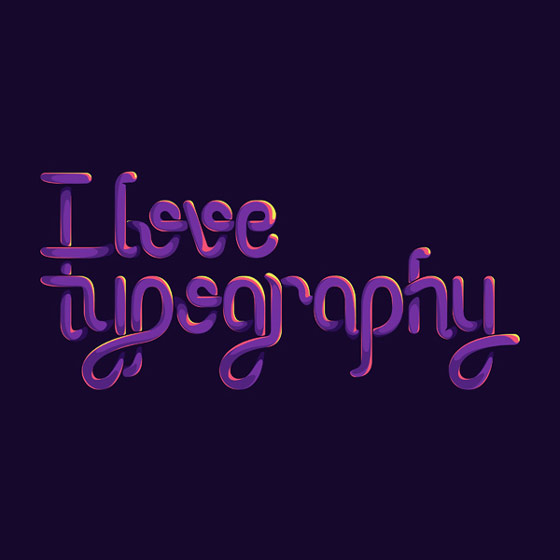 tipografía ilustrada