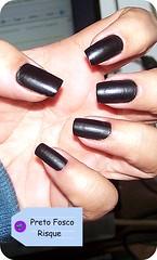 Esmalte do Dia ! (O GATO MIMOSO) Tags: nail polish preto picnik risque unha fosco vernis esmalte