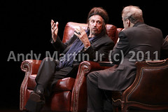 Al Pacino 2011-39 (twoegrets) Tags: usa nc durham live performance raleigh interview spoken alpacino onenightonly dpac