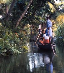 Kerala waterway (bokage) Tags: india boat kerala backwaters waterways