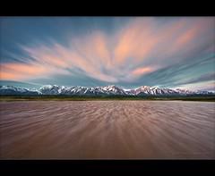 Sierra Wind (TomGrubbe) Tags: california lake mountains clouds landscape wind drama easternsierras bentoncrossing alkalipond