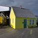 Maison jaune pays de la Sagouine