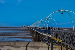 Blue Sky's (georgiabowden) Tags: piers southportpier