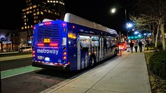 WMATA Metroway 2016 New Flyer Xcelsior XN40 #2989 (MW Transit Photos) Tags: wmata new flyer xcelsior xn40