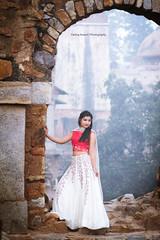 Sandhya!! (pankaj.anand) Tags: 85mm canon60d strobe sandhaya desigirl prewedding preweddingshoot wedding shoot delhi girl delhigirl portrait outdoor hauzkhaas fort fortindelhi shootindelhi lehnga indiandress 2017 portrait2017