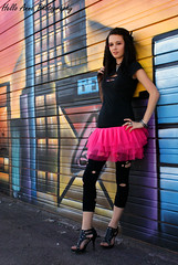 Katelyn Photo Shoot #1 (Hello_Anne7800) Tags: urban nature phoenix fashion graffiti model az walls