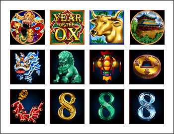 free Year of Fortune slot game symbols