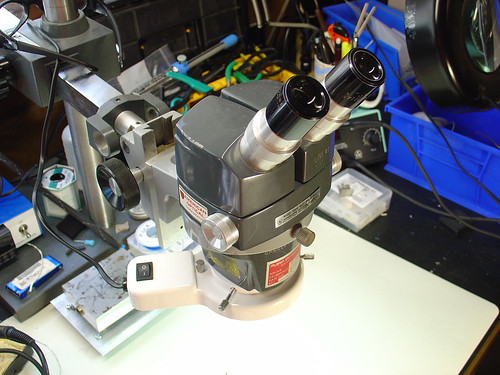 New microscope illuminator setup