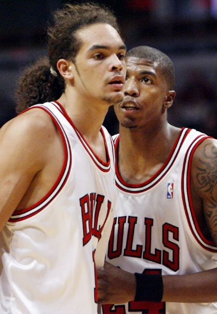 Do the Bulls suck when these guys are on the floor together?