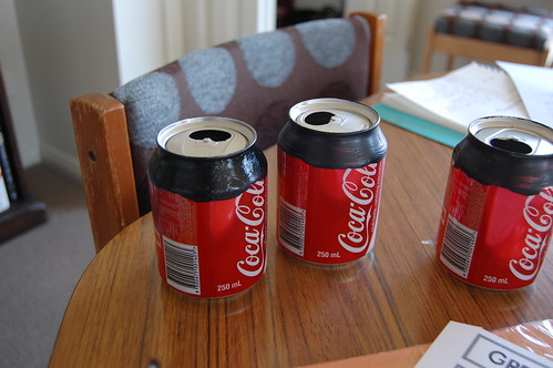 Another use for coke cans
