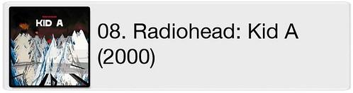 08. Radiohead - Kid A (2000)