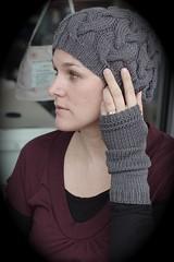 Simple Long Fingerless Gloves