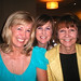 Sandy Baker, Annette Purvis and Marion Leyer