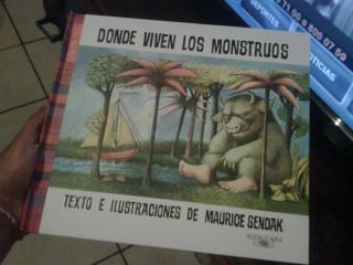«Donde viven los monstruos»