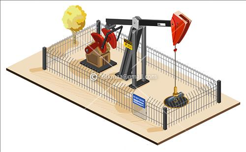 Oil Pump Isometric