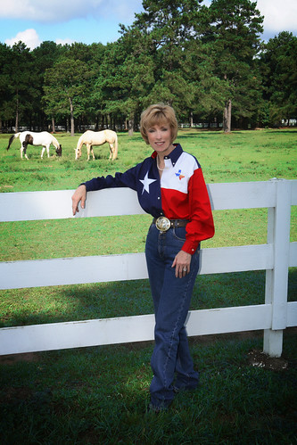 Debbie Riddle at Quarter Horse Farm