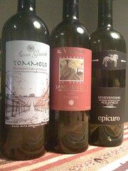 Three Italians...from Trader Joe's