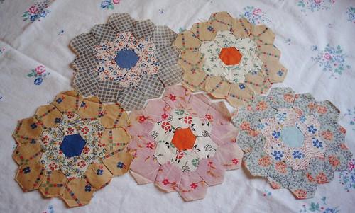 Vintage blocks challenge