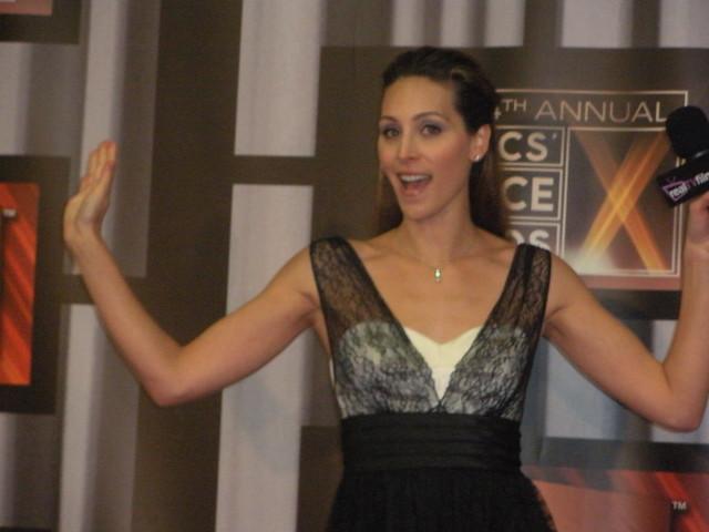 Critics Choice Awards - Cristina Nardozzi